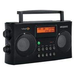 SANGEAN HDR-16 Sangean AM/FM HD Portable Radio