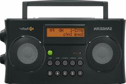Sangean HDR-16 AM/FM LCD HD Digital Portable Stereo Radio RD