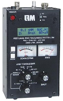 MFJ HF/VHF/UHF antenna analyzer w/meters and Ham Guides TM P