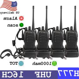 4xRetevis H777 Walkie Talkies Two Way Radio long range UHF40