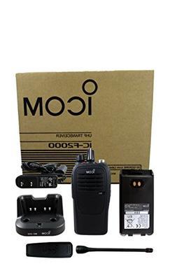 Icom IC-F2000 01 BC-213 4 watt 16 channel UHF 400-470mhz two