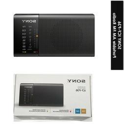 "Sony ICF-P36 Compact Portable AM/FM Radio 17"" Antenna & Hand"