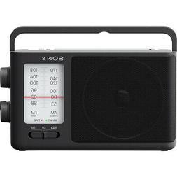 Sony ICF506 Analog Tuning Portable FM/AM Radio