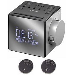 Sony ICFC1PJ Alarm Clock Radio w/ 2 Back-up 2032 Lithium Bat