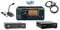 Icom IC-718 Radio and Accessory Bundle - 6 Items - Includes