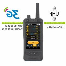 IP67 3G Wifi Radio W5 Android 6.0 Phone PTT Radio UHF radio