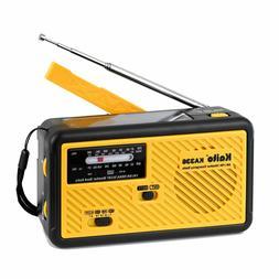 Kaito KA336 Emergency AM FM NOAA Weather Alert Radio with So