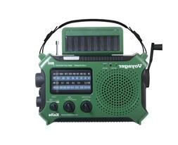 Kaito KA500GRN 5-Way Powered Emergency AM/FM/SW Weather Aler