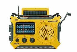 Katio KA500 AM FM Shortwave Solar Crank Emergency Weather Al