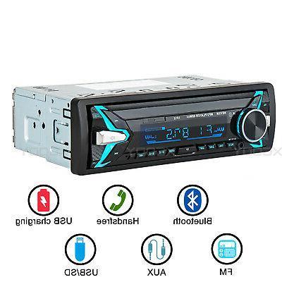 1Din Car Stereo Audio Radio MP3 Player Bluetooth FM TF/USB/A