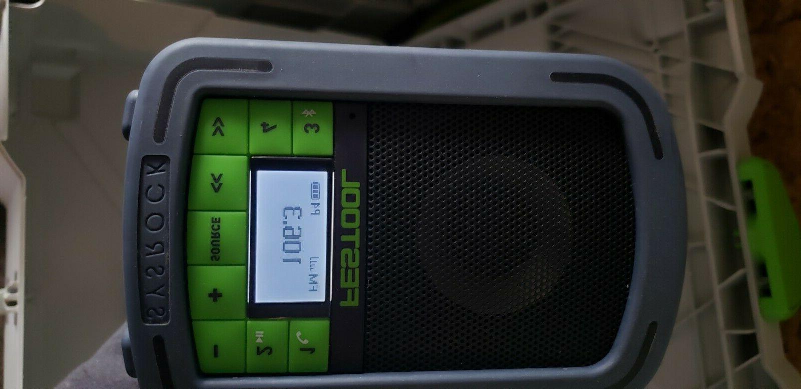 Festool 200184 Jobsite Radio with EXTRAS !!!!!!!!!!!!!!!!!!!!!!!!!!!