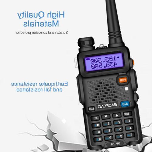 Baofeng Two-way Radio VHF UHF Range+Hand Mic