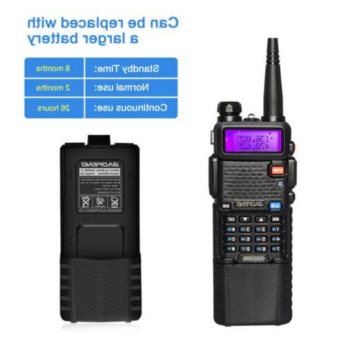 Baofeng Walkie Two-way Radio VHF Long Mic
