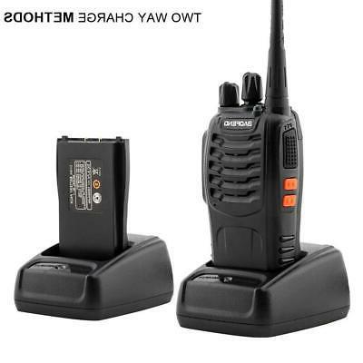 4x UHF 400-470MHz Ham Radio 5W Talkie