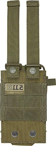 5.11 TACTICAL 58718 Radio Pouch, Tac OD, Nylon, 5-3/8 x3-5/8