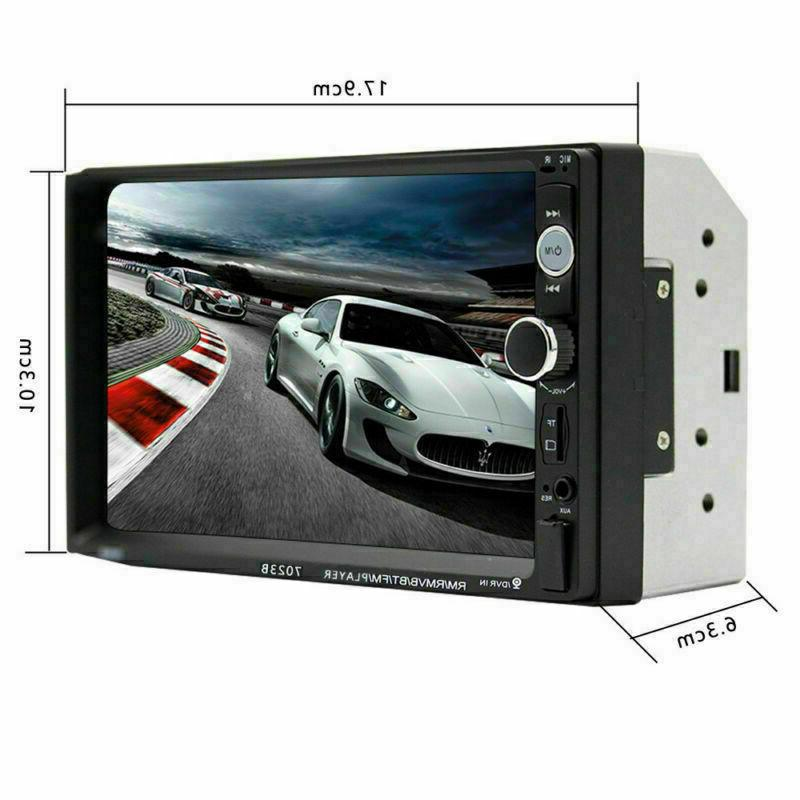 Car Stereo Double Din Audio Receiver IOS /