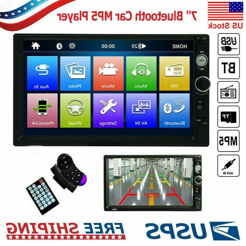 "Car 7"" Double Audio Receiver IOS /"
