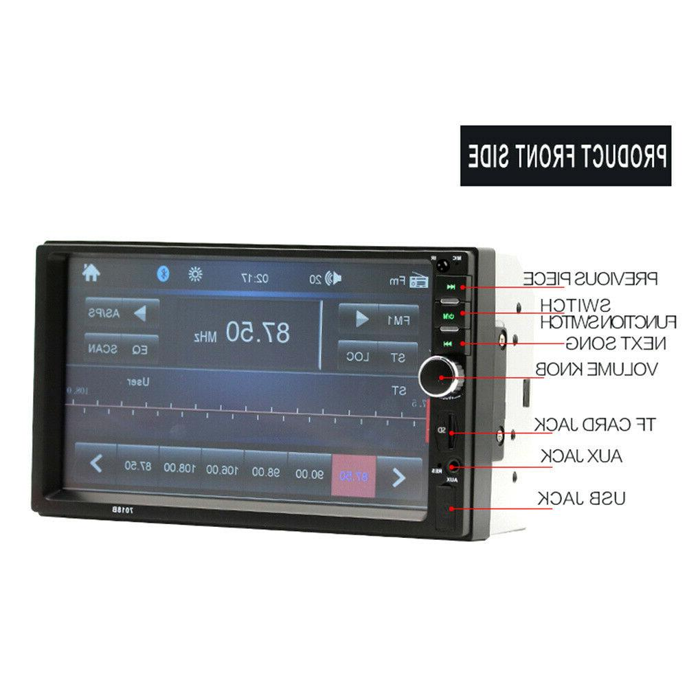"""7"""" Double Touch Screen Radio IN MP5"""