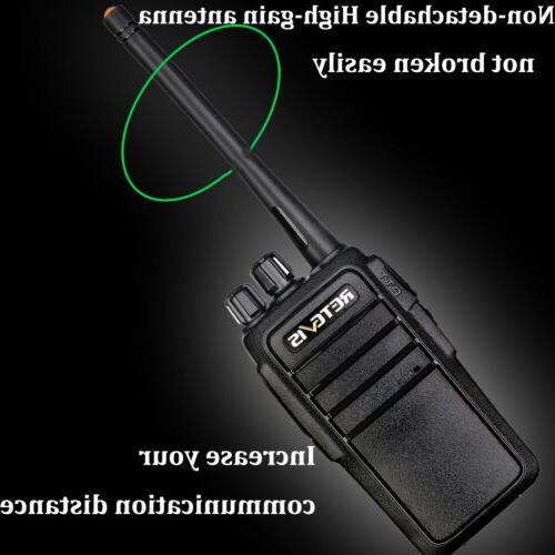 Walkie VOX Two Radio+Mic 2W Retevis Black