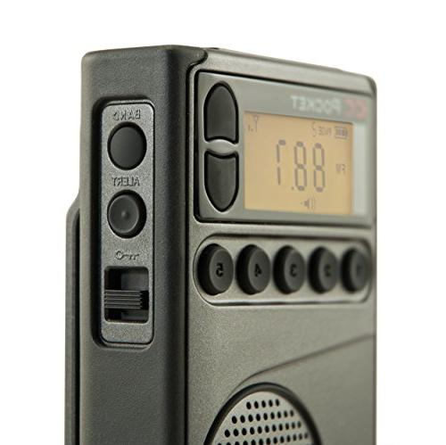 C. CC AM Weather Radio with and Timer
