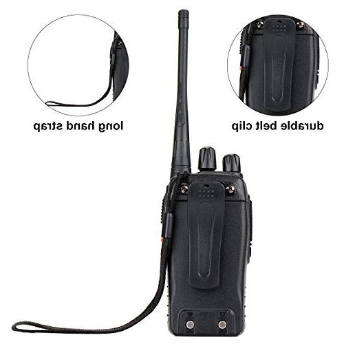 Retevis H-777 UHF Range Rechargeable 2 Radio Portable Way with Adapter
