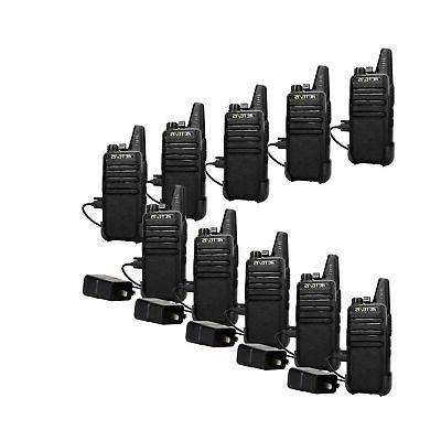 Retevis UHF Rechargeable 2 Way 16CH Portable Handheld Way Adapter