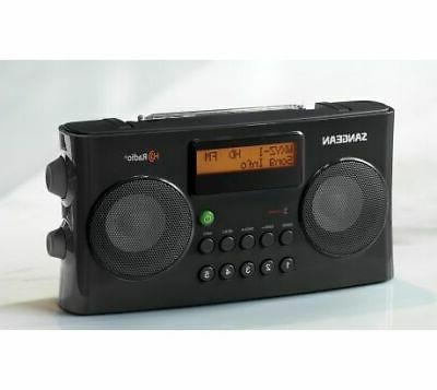 Sangean HD Radio, Black,