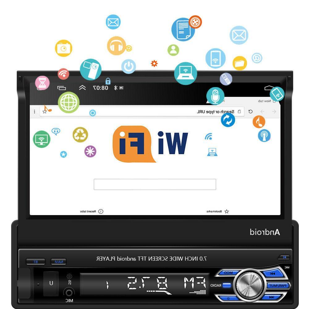Single Din Car Stereo Radio GPS Navi