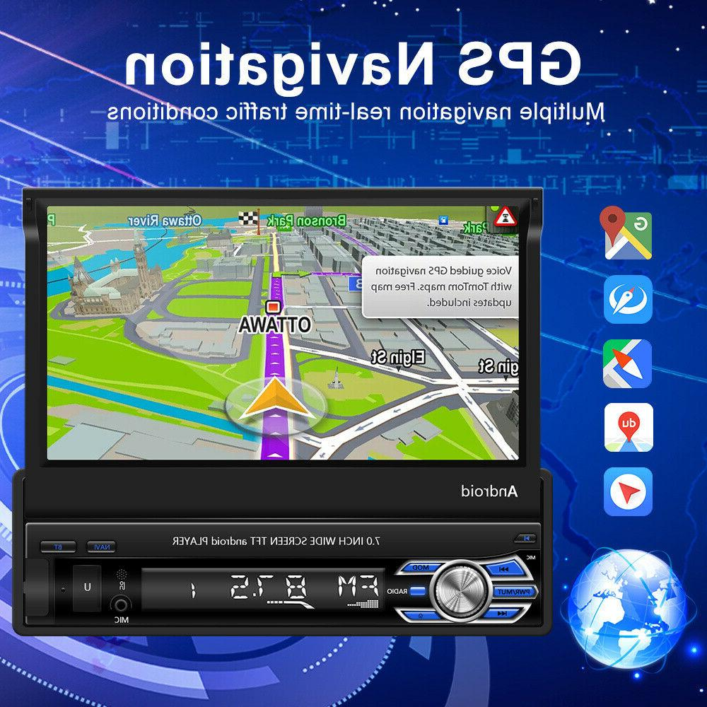 Single 1 Android 10.1 Car GPS Navi Wifi