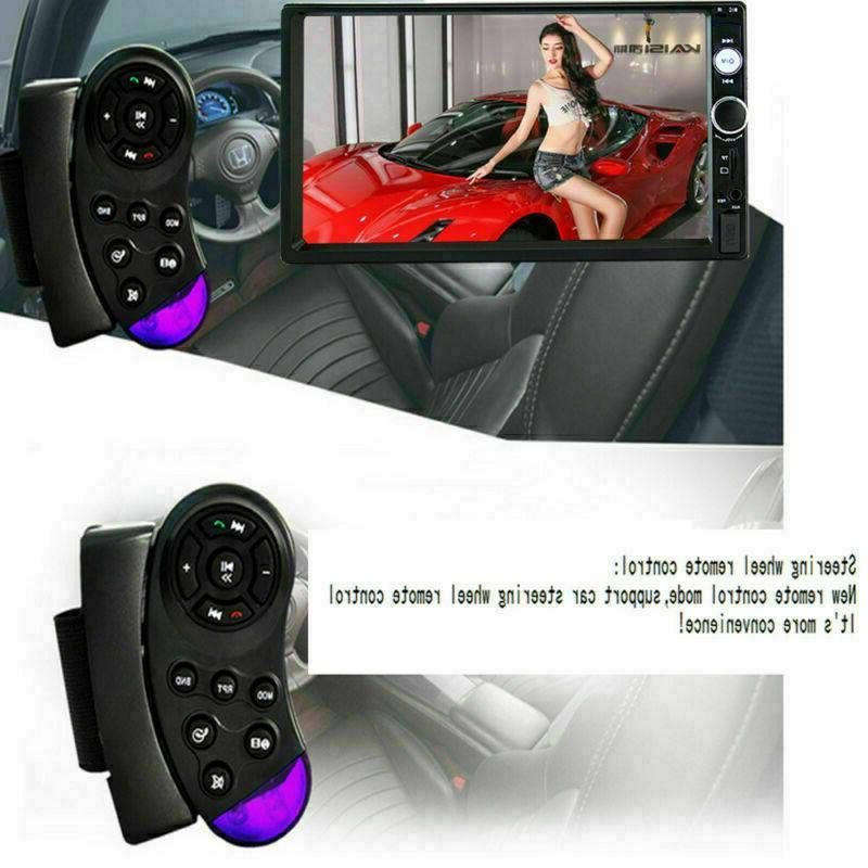 Car Stereo Double Din Bluetooth IOS