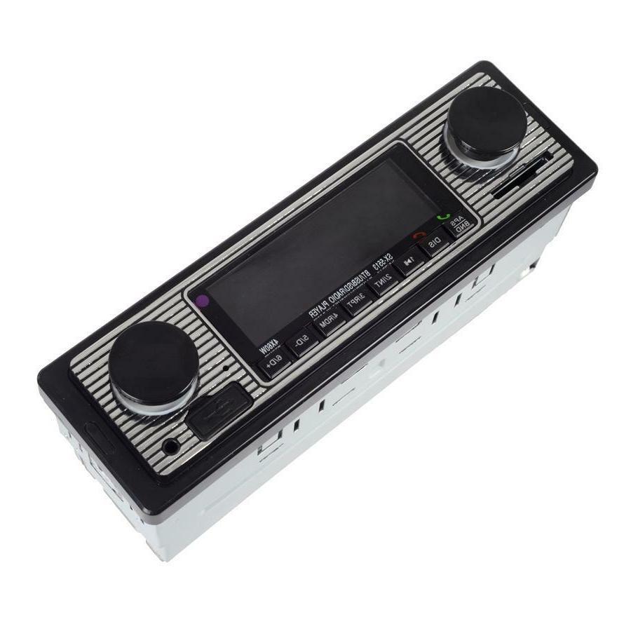 Bluetooth Vintage Car Radio MP3 AUX Classic Receiver