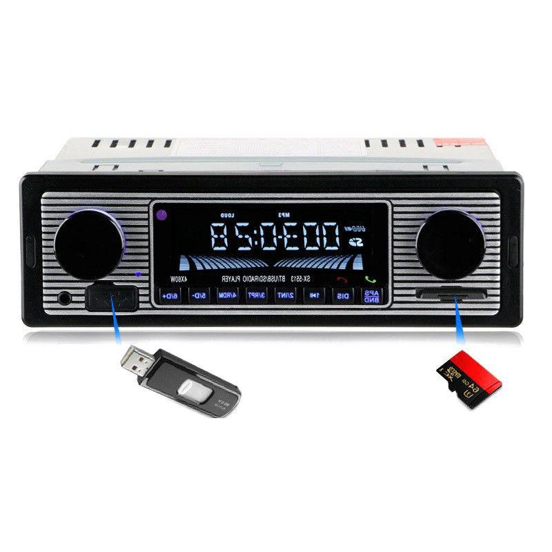 Bluetooth Vintage Radio USB Receiver