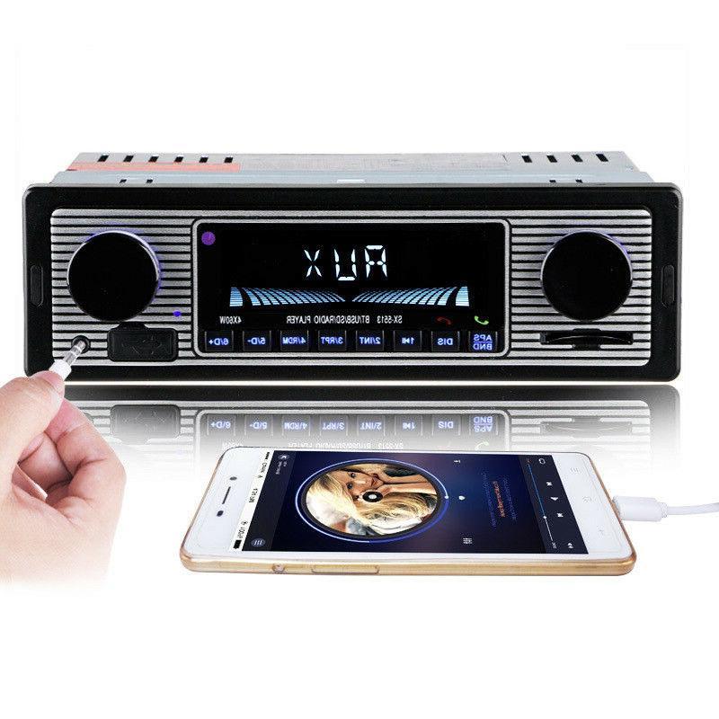 Bluetooth Radio USB AUX Classic Receiver