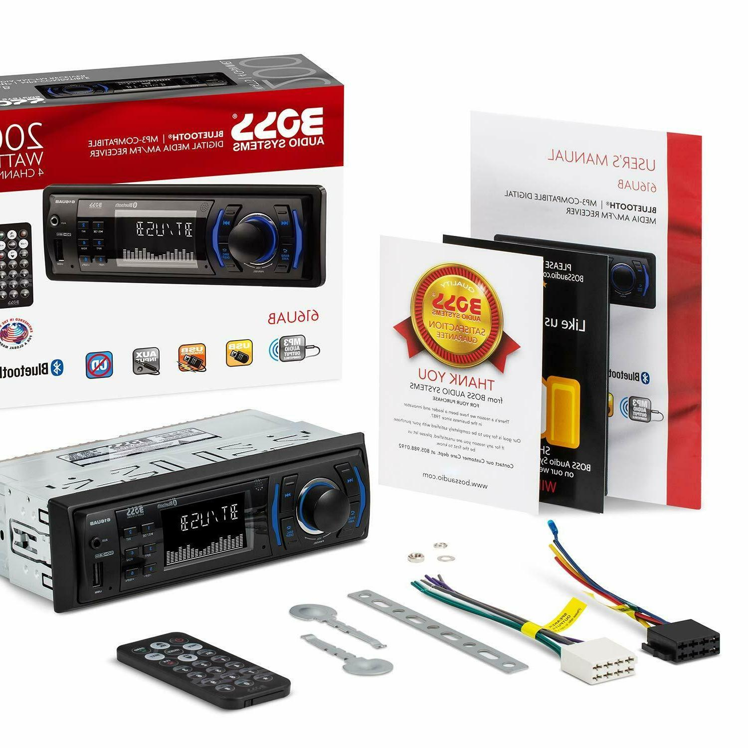 BOSS Stereo - Bluetooth, Aux-in,