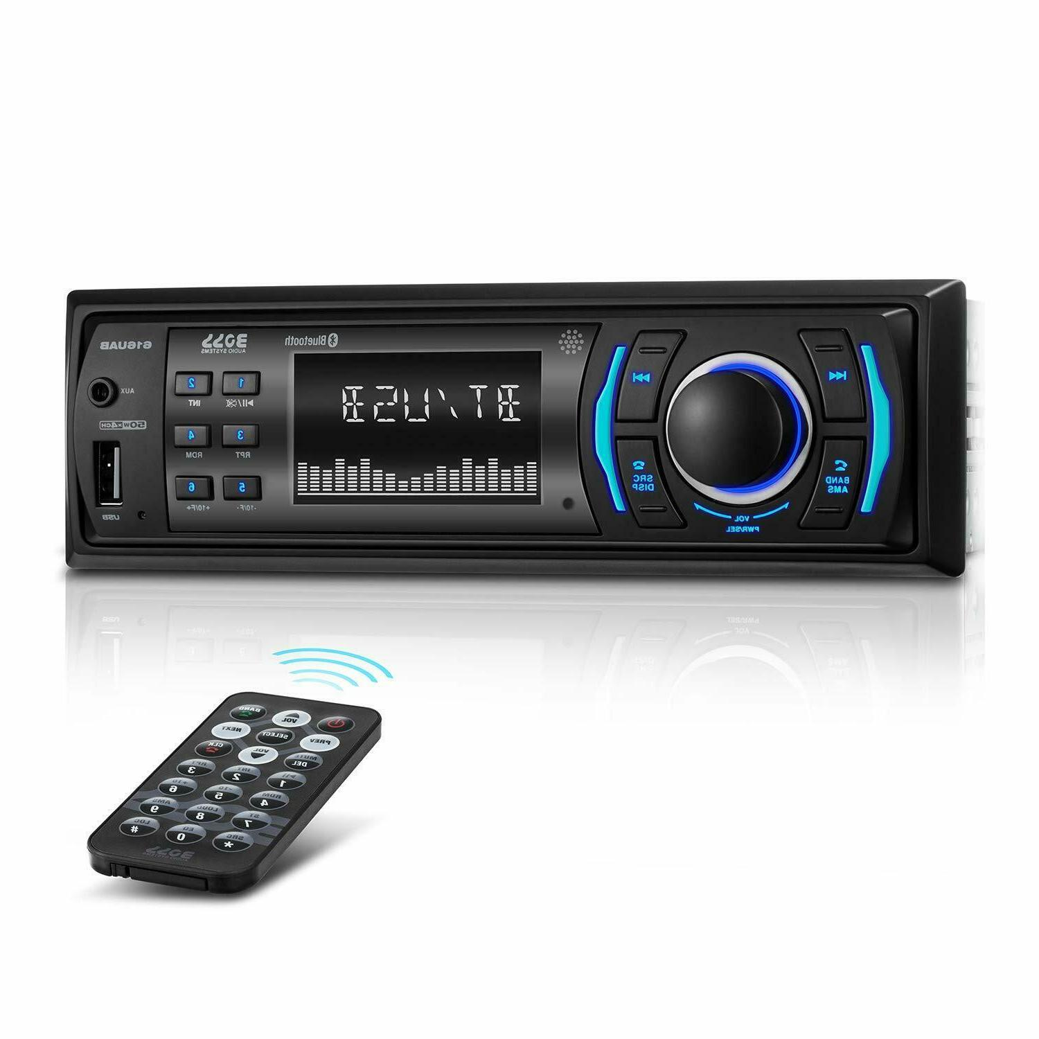 616uab car stereo bluetooth usb aux in