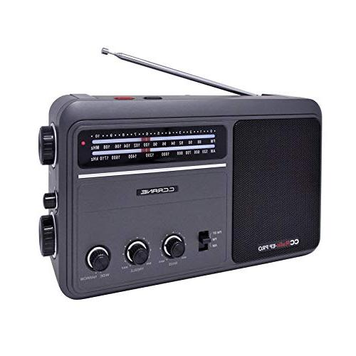 C. Crane CCRadio - EP PRO AM FM Battery Operated Portable An