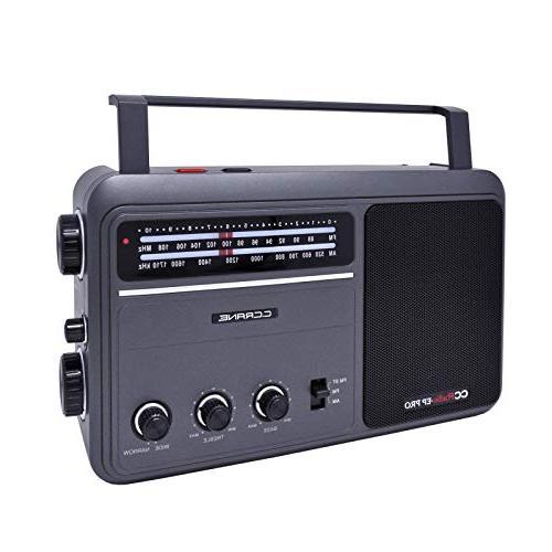 C. EP PRO Battery Operated Analog Radio DSP