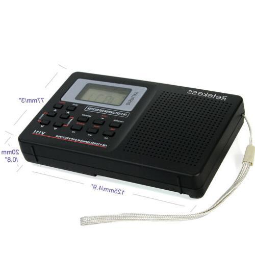 Portable Radio Stereo DSP Full Digital Clock