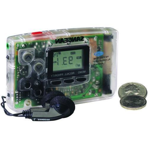 dt 110c amfm pocket radio