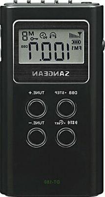 Sangean DT-180 AM / FM Pocket Radio