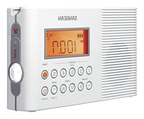 h201 portable water resistant radio