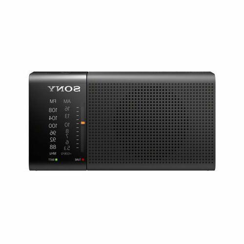 icf p36 portable am fm radio tuner