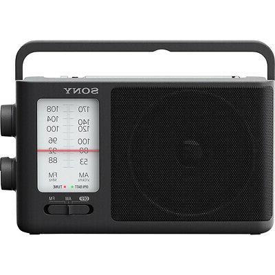icf506 analog tuning portable fm am radio
