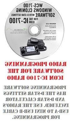 Icom IC-7100 Two-Way Radio Programming Software