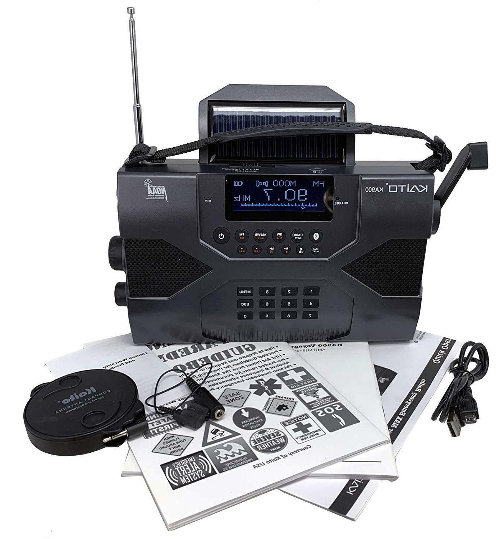 Kaito KA900 Crank AM FM