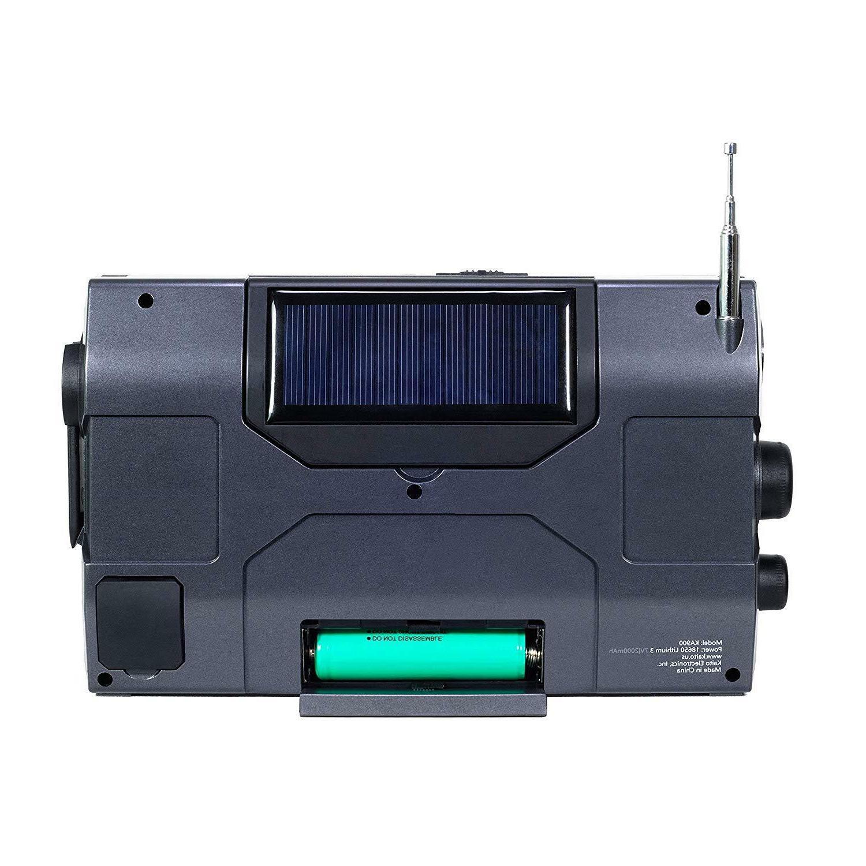 Kaito KA900 Digital Solar Crank NOAA AM FM