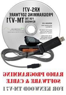 Kenwood TM-V71A Dual-Band Mobile Two-Way Radio Programming S