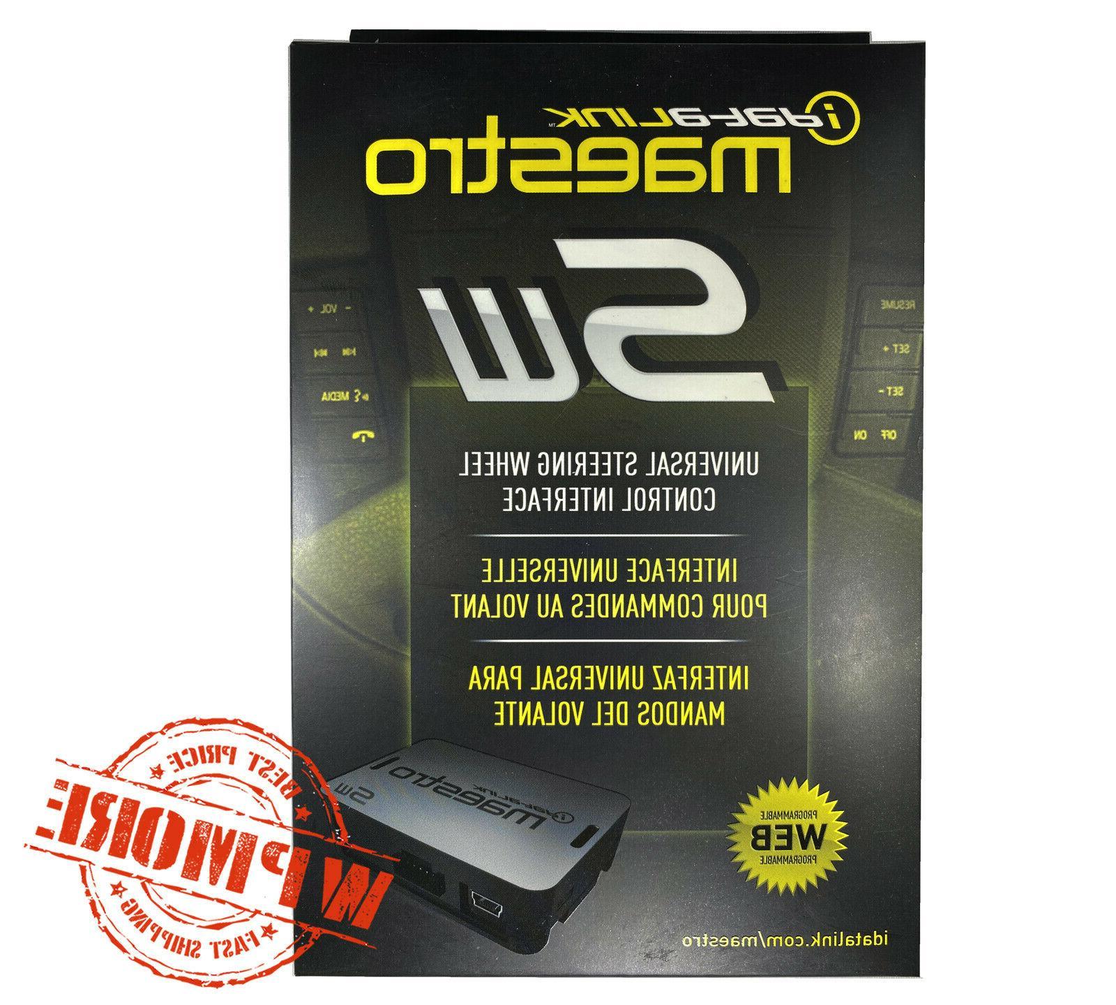 iDatalink Maestro MSW Universal Steering Control
