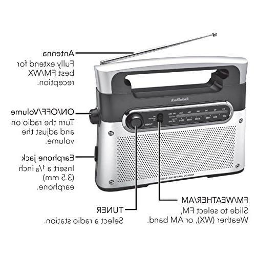 RadioShack Portable Tuning AM/FM/Weather