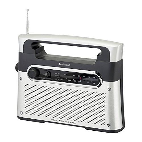 RadioShack Analog Tuning AM/FM/Weather